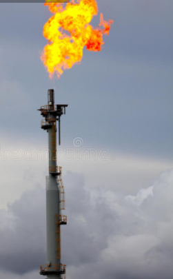 flare stack photo