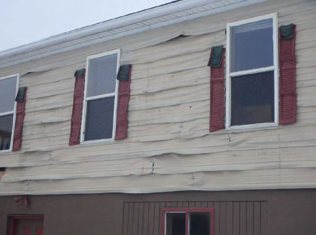 Follansbee siding damage 1-27-18