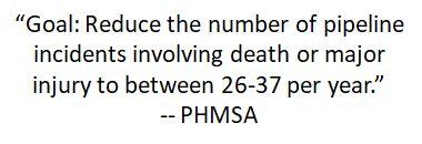 PHMSA goal 2-5-18