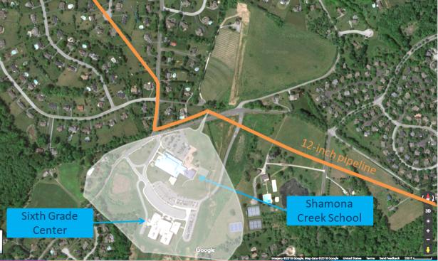 Shamona Creek flash-fire area 11-12-18