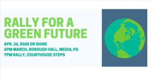 Rally for a Green Future 4-24-19