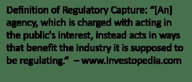 regulatory catpure definitiion 5-5-19